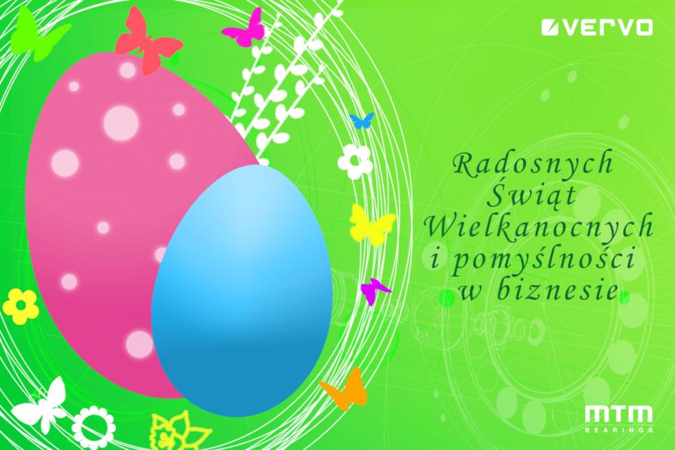 Życzenia Radosnych Świąt Wielkanocnych Vervo